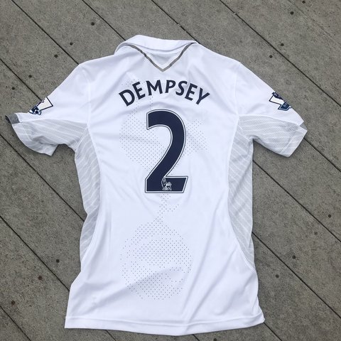6c4e1992881 @texasvinylhound. last month. Waco, United States. Clint Dempsey Tottingham Spurs  soccer jersey medium. Barclays Premiere League