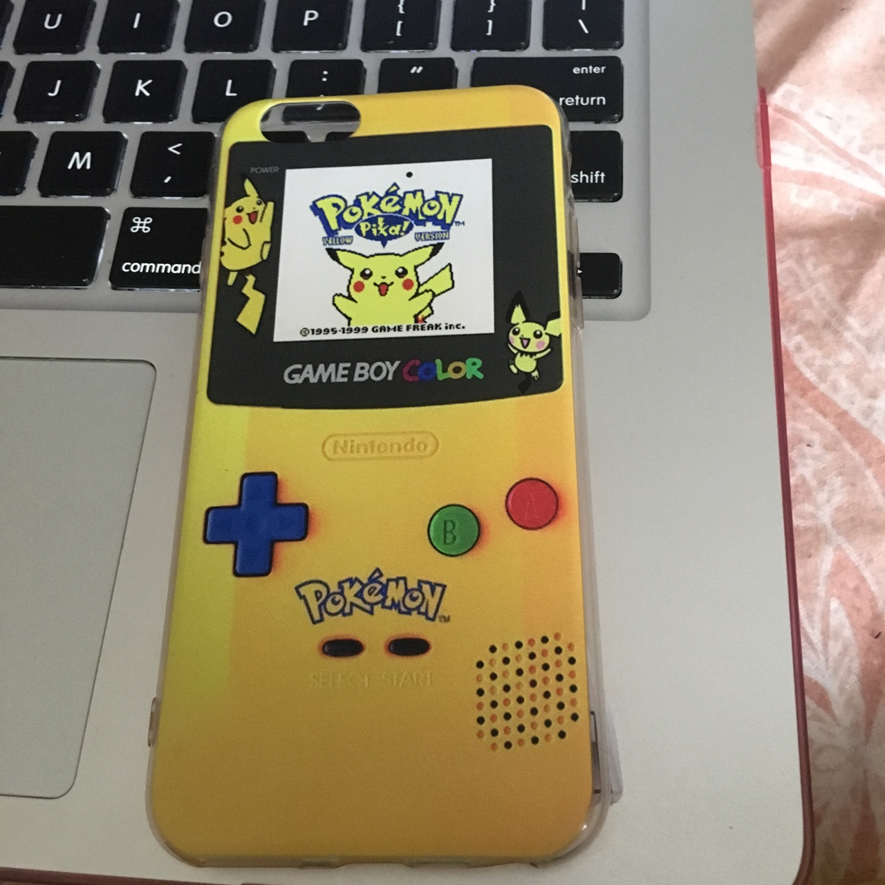 cute pokémon gameboy iphone 6/6s case !! it's so    - Depop