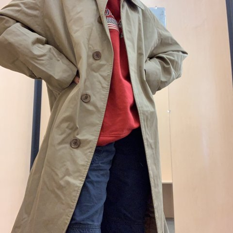 3e22af392 @zvintage. 3 days ago. Inglewood, United States. Nice Burberry trench coat.  Tan color. Size large in great condition