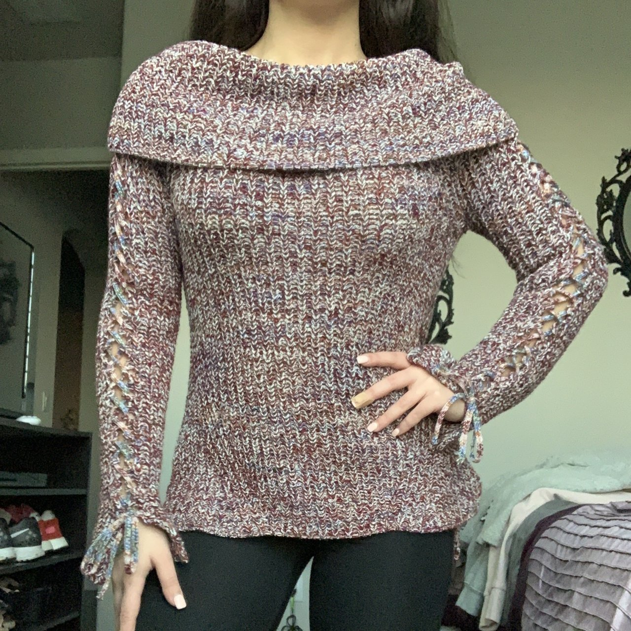 65346494a5922c Cozy and soft knitted off