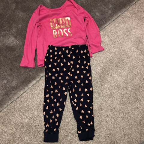 f523c4c3f Mini boss toddler pjs from George ASDA. Worn once. Size top - Depop