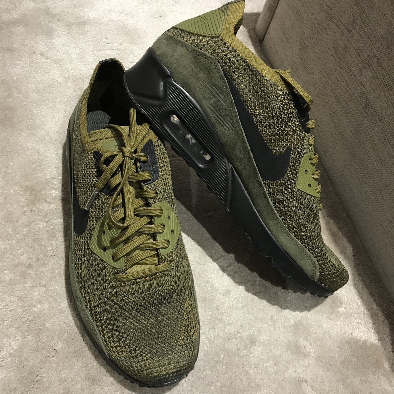 air max 90 ultra 2.0 flyknit green The
