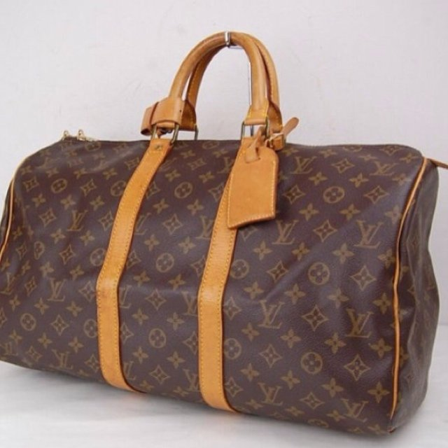 ba30b4a53e67 100% Guaranteed Authentic Louis Vuitton Keepall 45 Travel in - Depop
