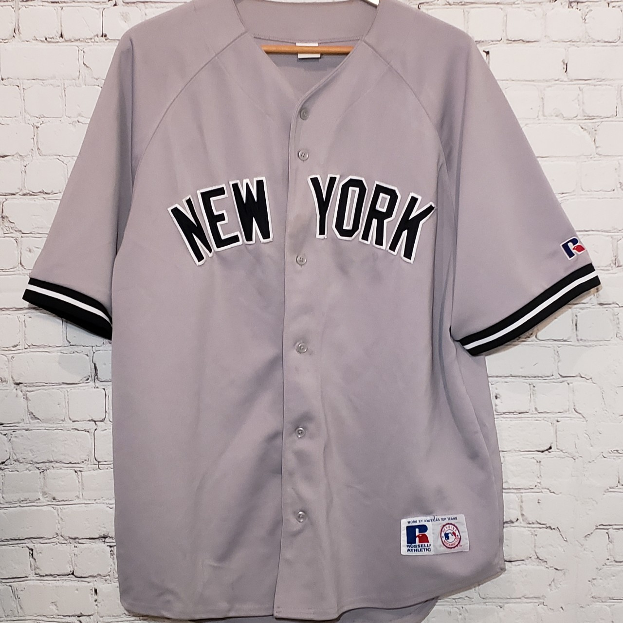 on sale e1390 0a06f NEW YORK YANKEES away Jersey, vintage, a part of my ...
