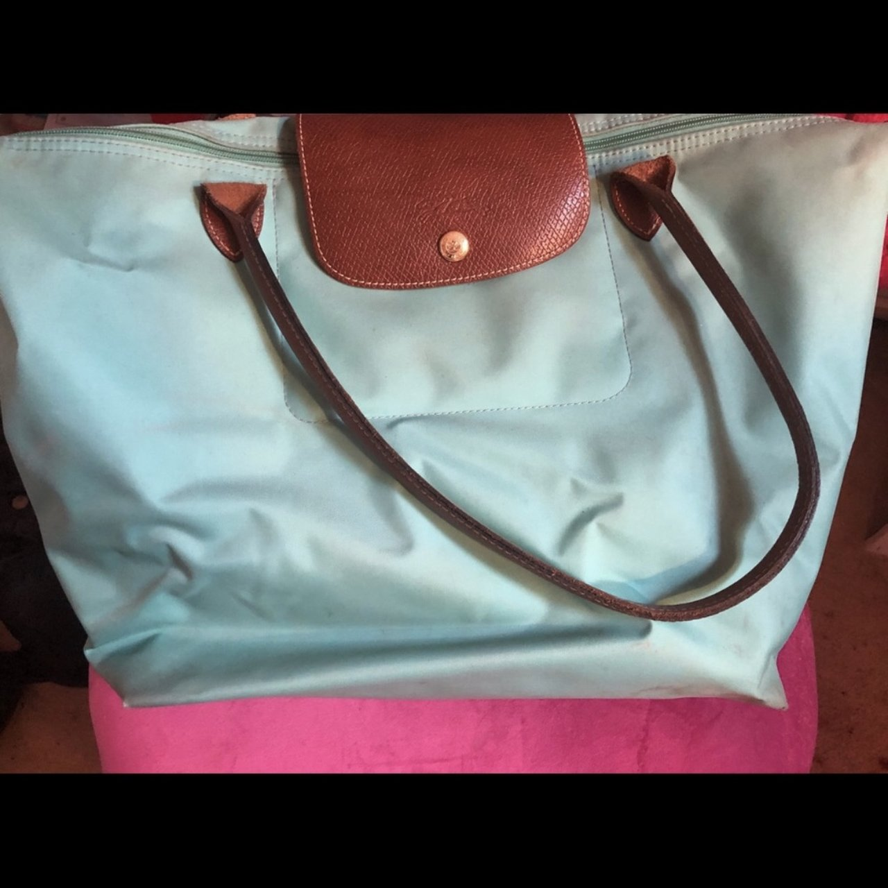 Longchamp - teal. Perfect for school 2379da13ba3ed