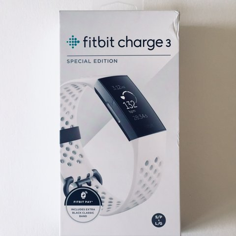 Brand NEW fitbit charge 3 SPECIAL EDITION It    - Depop