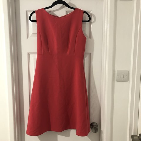 7f3bd9832807e Florence and Fred size 10. Coral dress - Depop