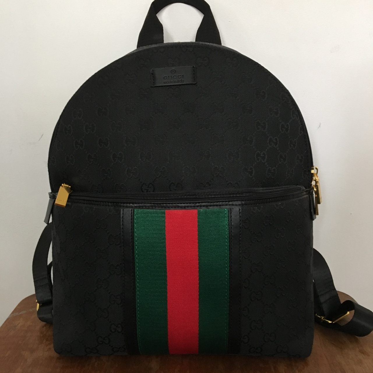Fake Gucci backpack mint condition. gucci mens , Depop