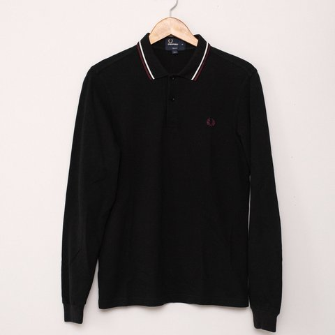405139ac @nukethefrats. 8 days ago. Chicago, United States. Fred Perry men's  twin-tipped long sleeve polo shirt