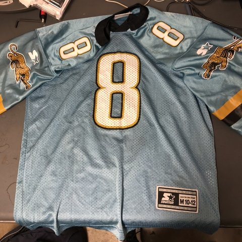 Vintage Mark Brunell NFL Jaguars Starter Jersey Up for sale - Depop 1e08c9ba9