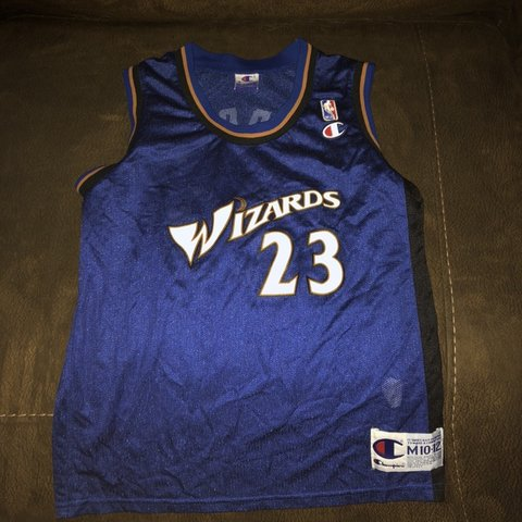 new style cb537 7932f NBA Michael Jordan Washington Wizards Champion... - Depop