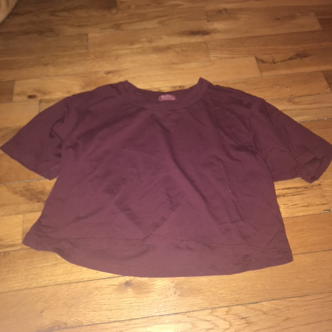 4a76c784d2eca9 BRANDY MELVILLE NWOT MAROON PENNY TOP! great condition