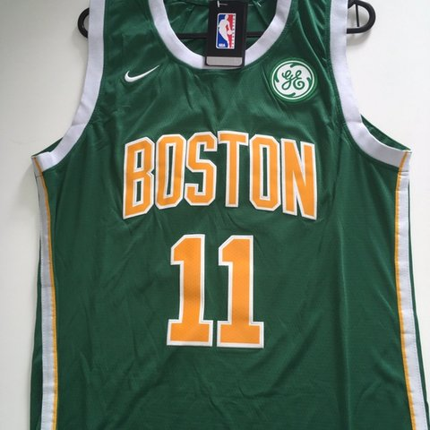 0435fe4b797 Nike Boston Celtics  11 Kyrie Irving Earned City Edition the - Depop