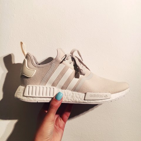29bbec071 NMD Original Runner - women s talc off white - size 7.5 us 9 - Depop