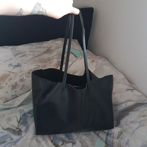 f0fb938156 @justnic11. 2 years ago. London, Greater London, United Kingdom. Asos  unlined tote bag in real leather.
