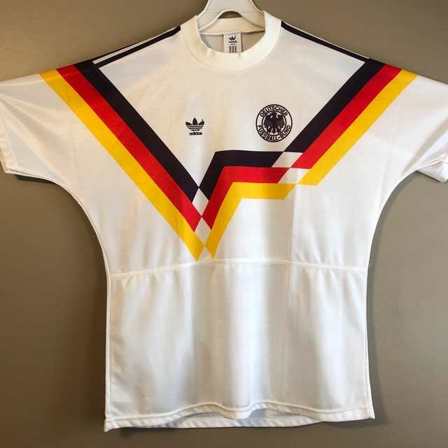 sale retailer f0df0 74840 West Germany 1990-92 Home Shirt in a men's Large ...