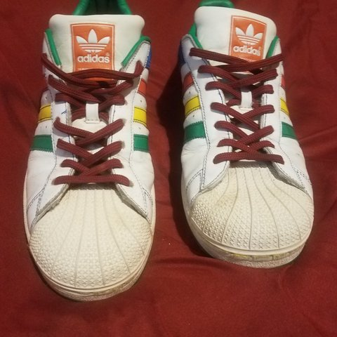 3e06beea5510 Adidas superstar 2 2007.... Now this is a shoe that makes a - Depop