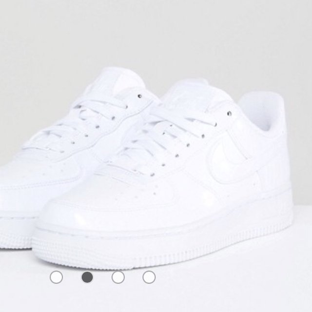 Nike Air Force 1 Trainers in White
