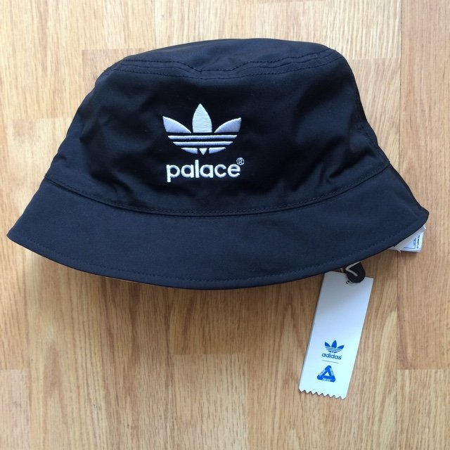 47b3b2ba3ae Adidas x palace bucket hat    brand new with tags    any ask - Depop