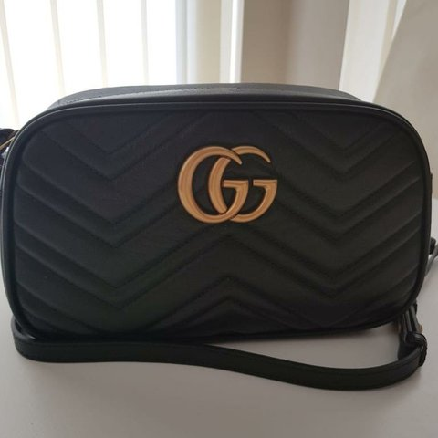 71e1b87610c6 Gucci marmont small matelase shoulder bag, with receipt, and - Depop