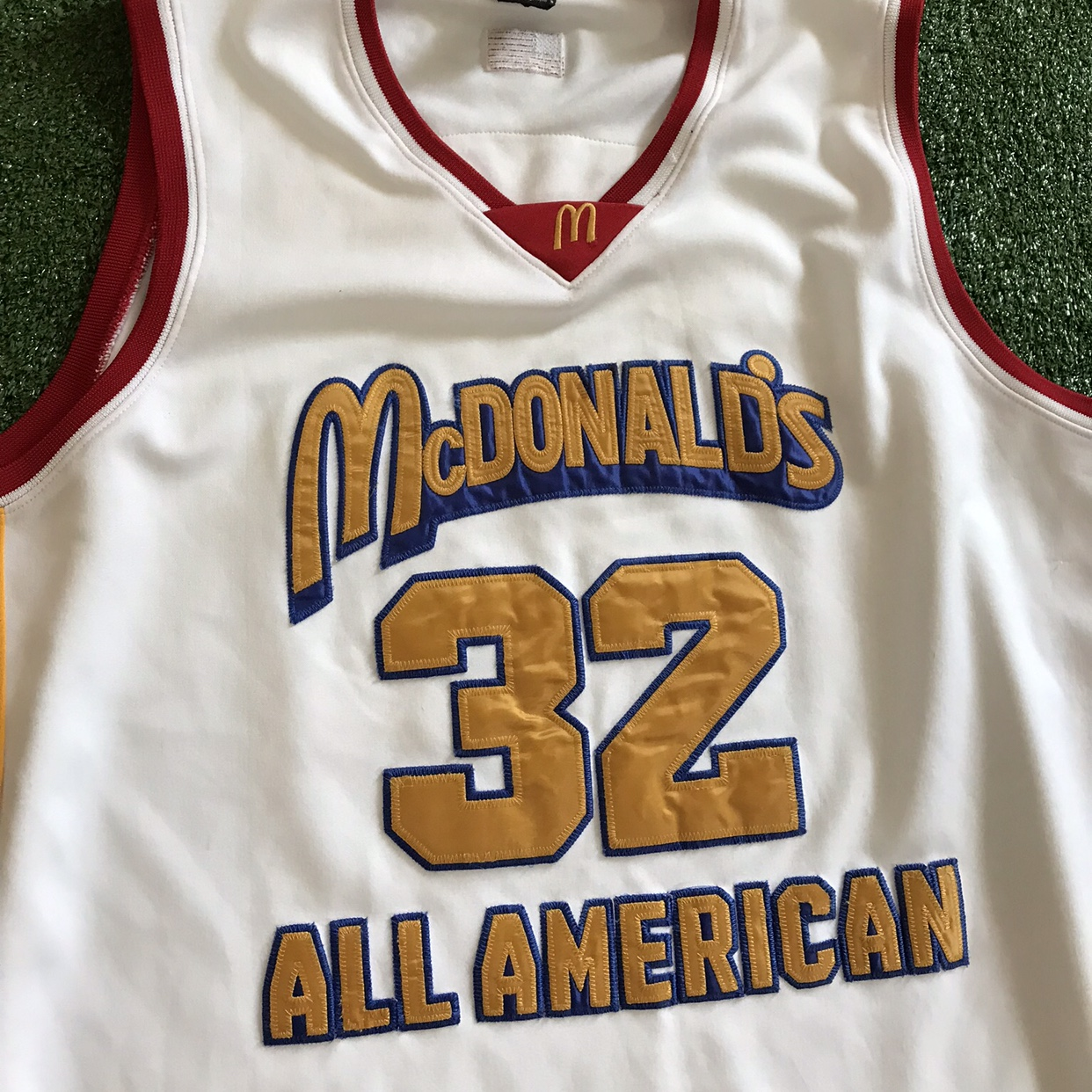 uk availability 15060 bf3b6 Lebron James McDonald's All American High School... - Depop