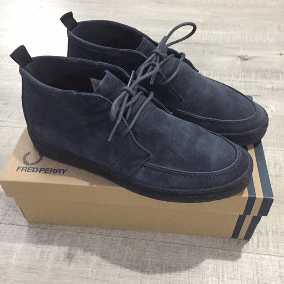 Fred Perry Shields Mid Suede Crepe