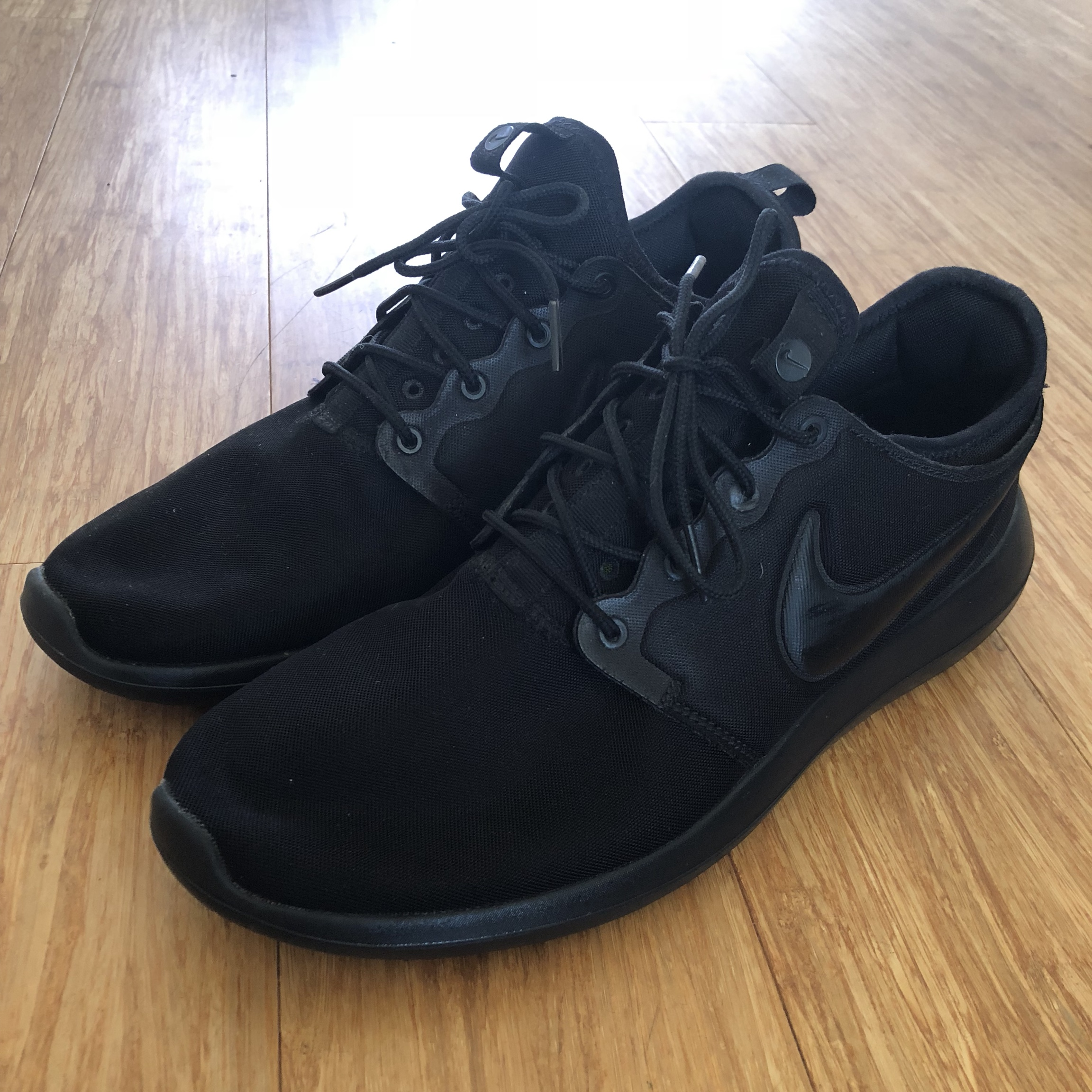 the best attitude de03f 157d7 Nike Roshe 2 trainers all Black size UK 10. Pristine... - Depop