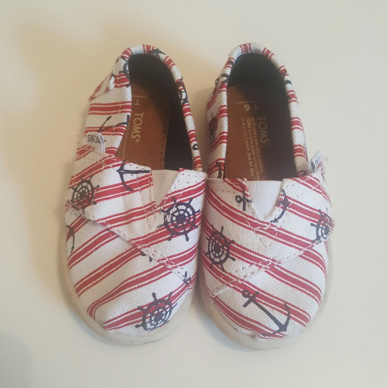 Baby Boys ShoesMothercareRed Slp On PumpsVarious Sizes