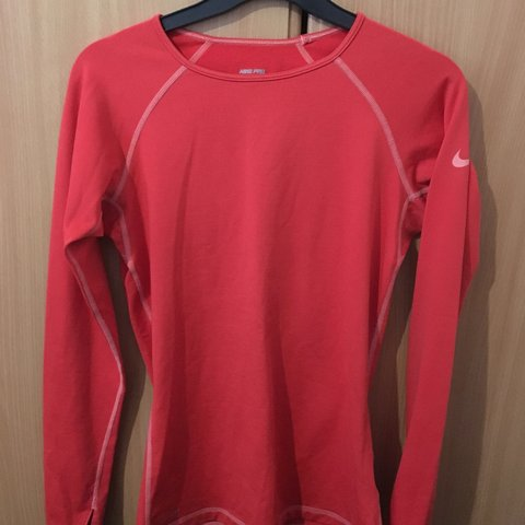 3cc3e682a0d00 Nike Pro Long Sleeve Training Top 🤗 Matersil is gorgeous