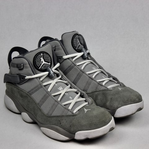 bb5fd51c6ba23d Nike Air Jordan Jordan 6 Rings Cool Grey Size  9.5 Free - Depop