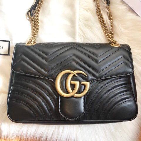 73cfe6c1d7ba Gucci Marmont bag Excellent condition Doesn't come with bag - Depop