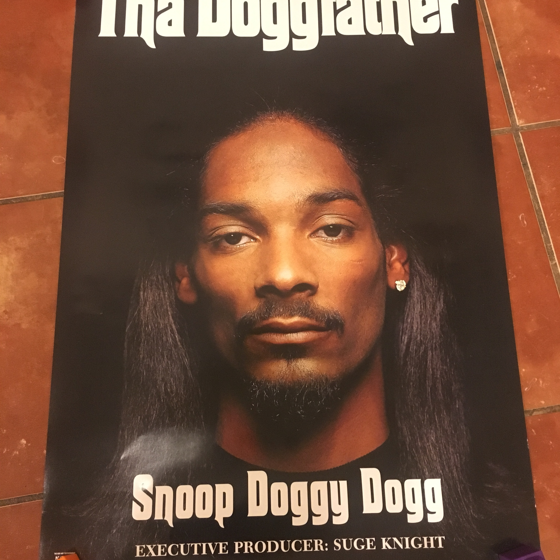 Vintage 1996 Snoop Doggy Dogg The Doggfather Promo    - Depop