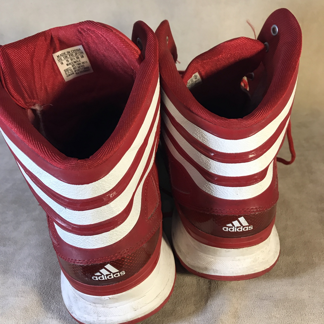Adidas Shoes Depop Basketball Red 779001 Ape Sneakers ordBCex