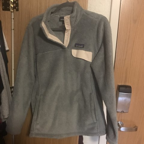 b8e414714 @sophiarizzo. 5 months ago. Fairfield, United States. Patagonia Women's Re-Tool  Snap-T® Fleece Pullover in Tailored Grey ...