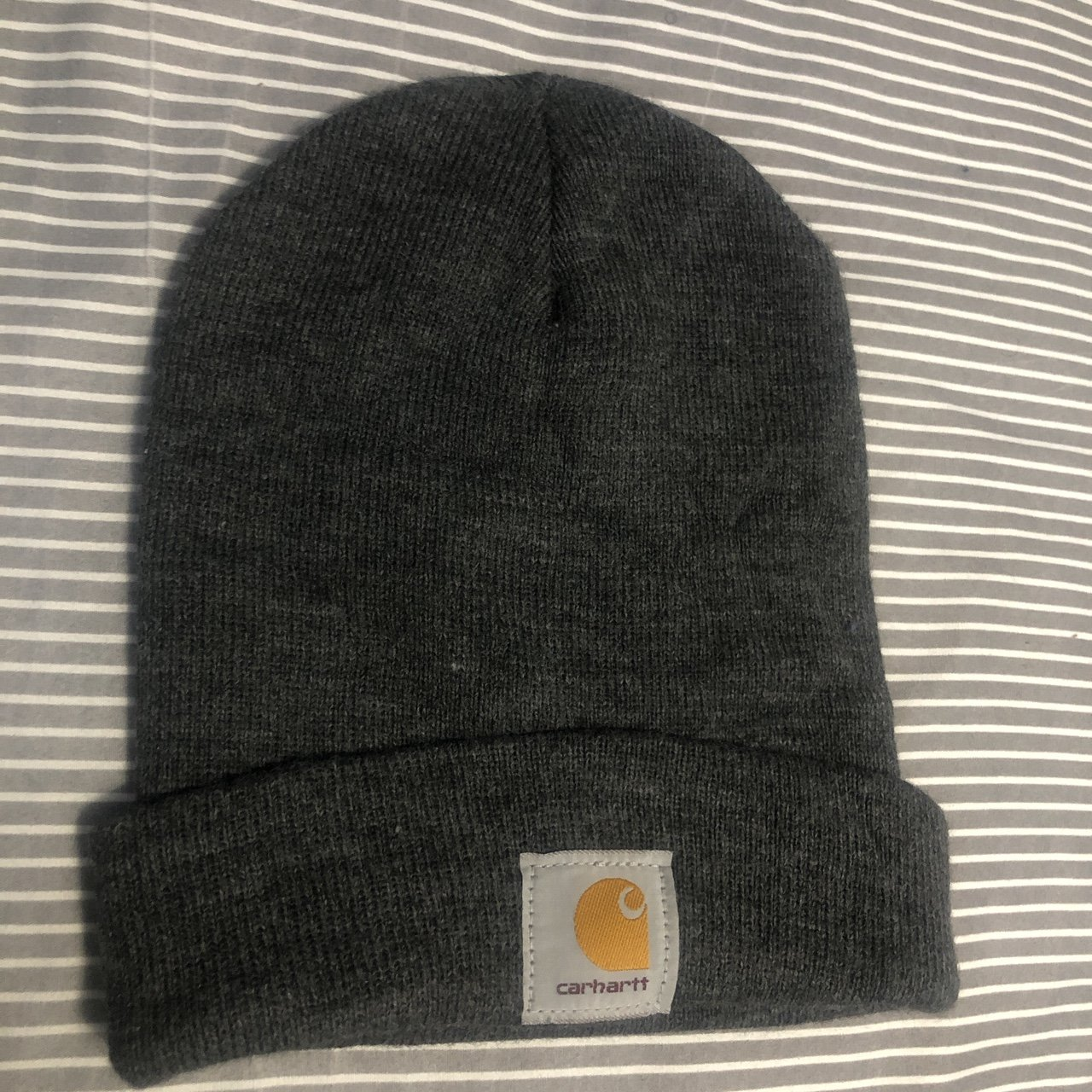 76e1ea2539d Carhartt beanie Gray One size fits all
