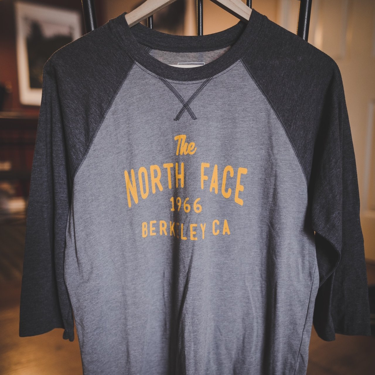The north face 3 quarter sleeve tee. Classic fit. - Depop 4ef323269