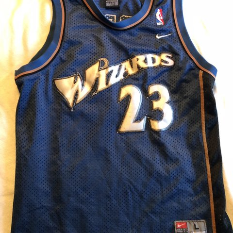 1285087417ff Michael Jordan Washington wizards Nike jersey. 23. Vintage. - Depop