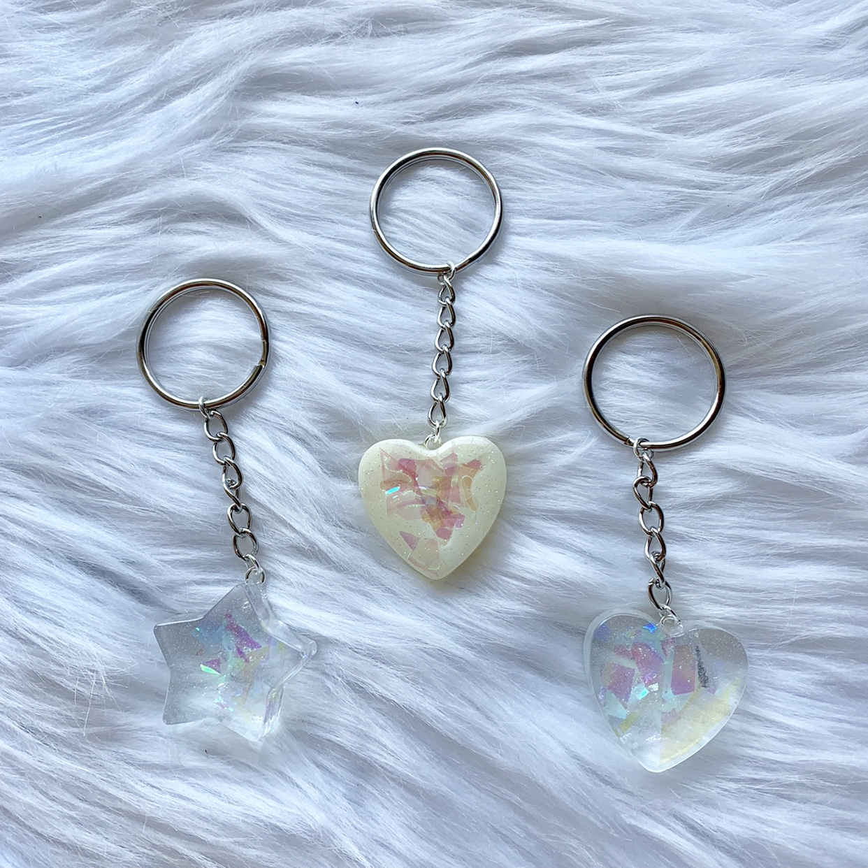 💫 magical keychains 💫 -handmade resin pieces with    - Depop