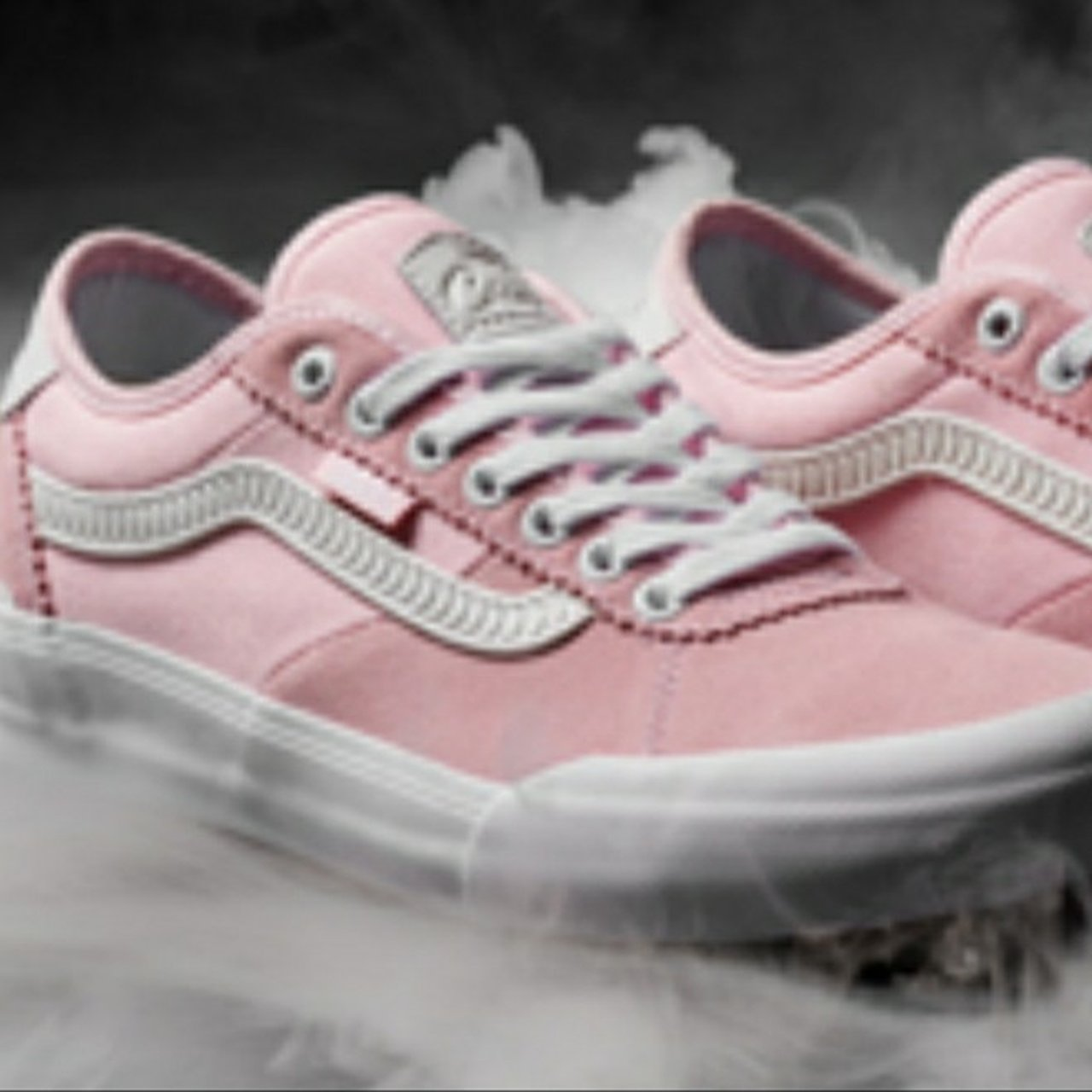 fdafb316ce1d9e SOLD OUT Vans Chima Pro 2 Spitfire Limited Edition in Pink a - Depop