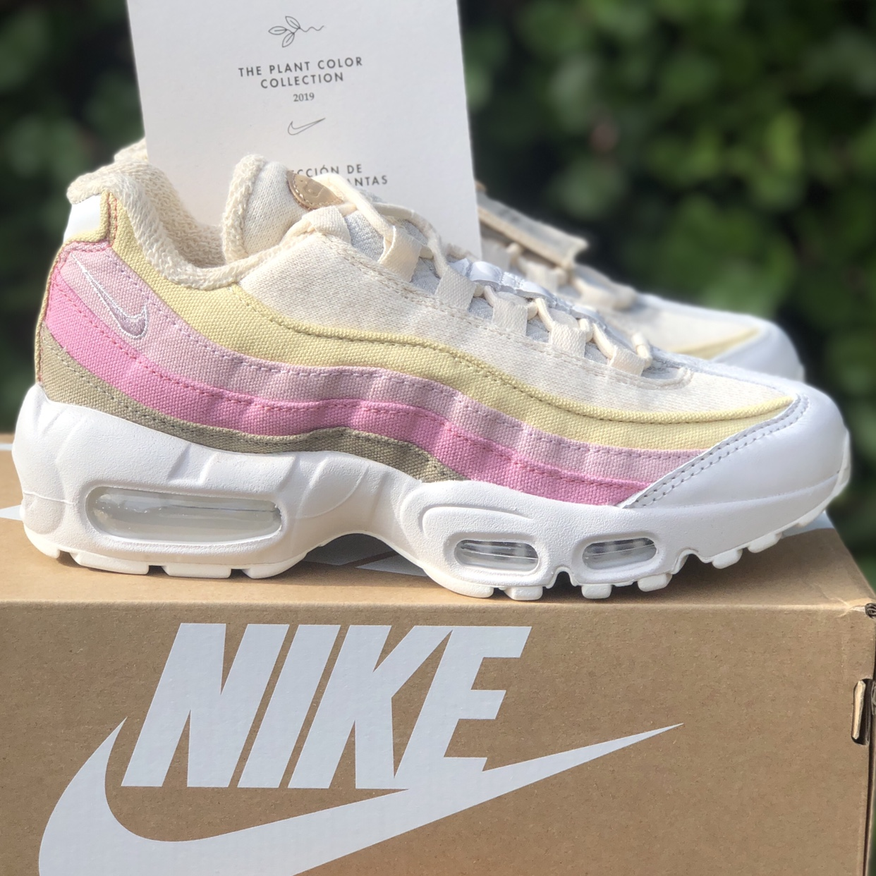nike air max 95 qs plant color collection
