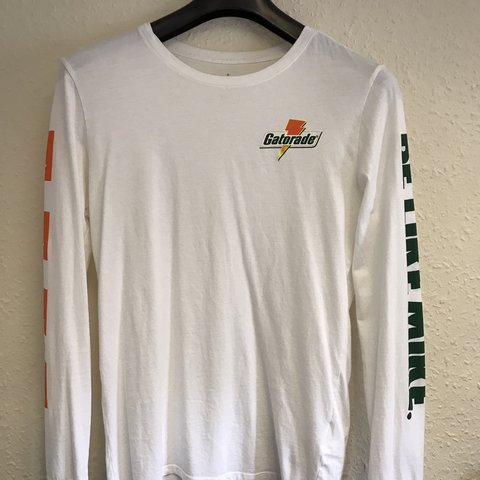 7883b42c67091f Nike Air Jordan Gatorade long sleeve T-shirt