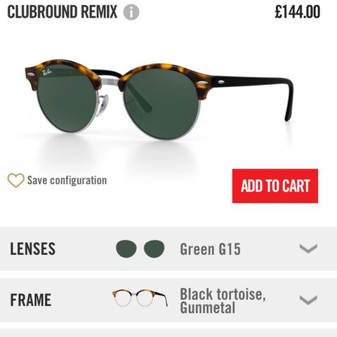 0d67b4a7caa5e Ray ban club round sunglasses. Bought £144 worn once