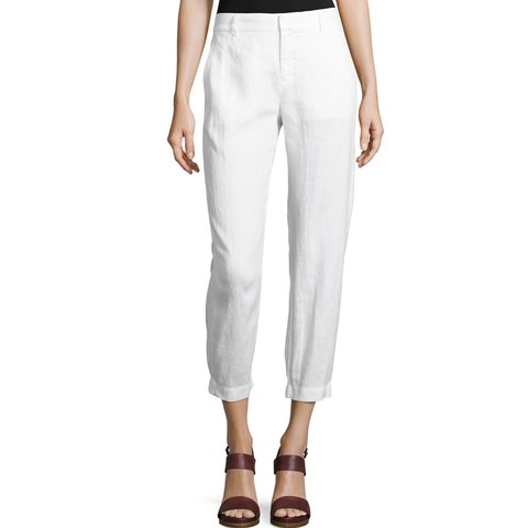 47733dbd5c Vince Linen Trouser Pant in white Excellent used condition