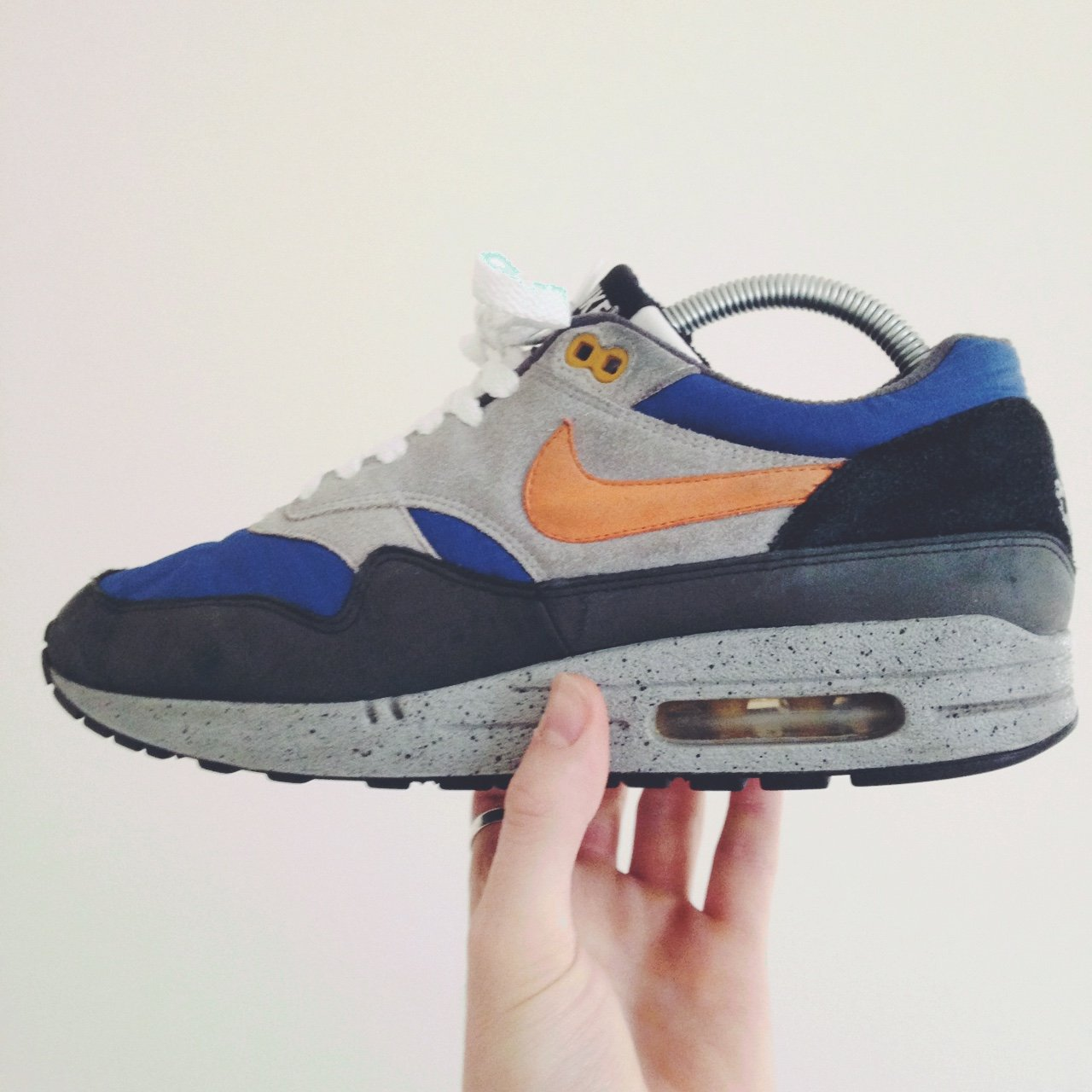 5a5e3f108d4 Nike air max 1  Skull Pack  good condition. Not sure about 8 - Depop