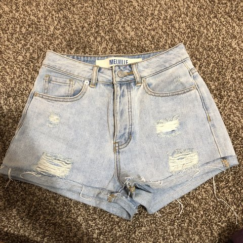 928d490e8a @megunicole. 10 months ago. West Kendall, United States. BRANDY MELVILLE  high waisted ripped distressed jean short ...