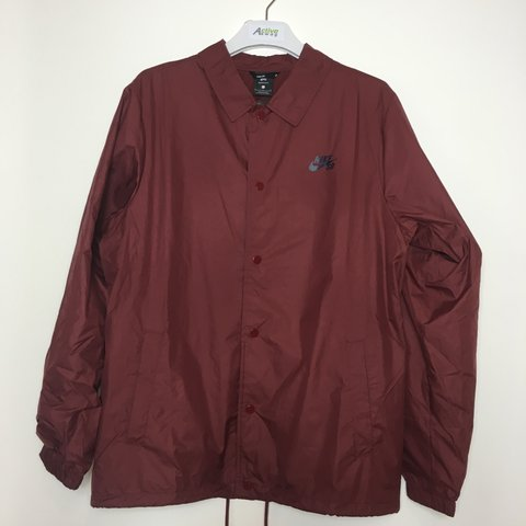 1aa760bc84ad NIKE SB SHIELD COACHES MEN S JACKET in red Brand new with - Depop