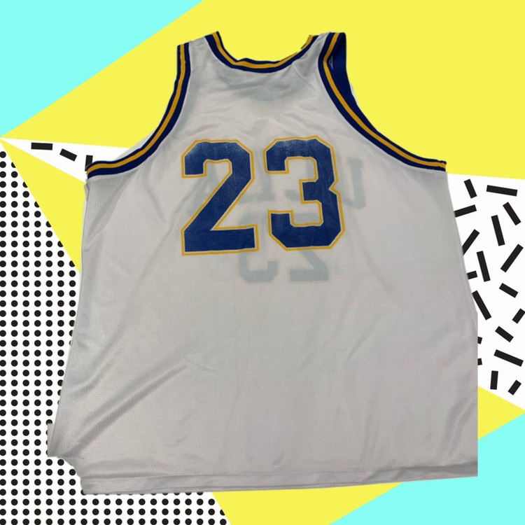 factory authentic 378d6 6eb7d Throwback UCLA Basketball Jersey #23 (fits like a... - Depop