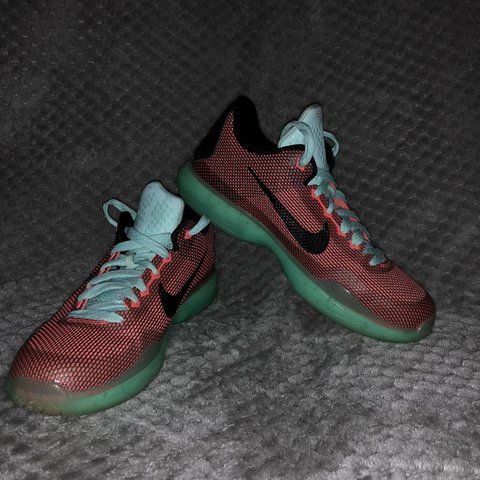 purchase cheap cdf41 e86f3 Nike Kobe 10  Easter  Worn 6-8 times. Perfect to complete or - Depop