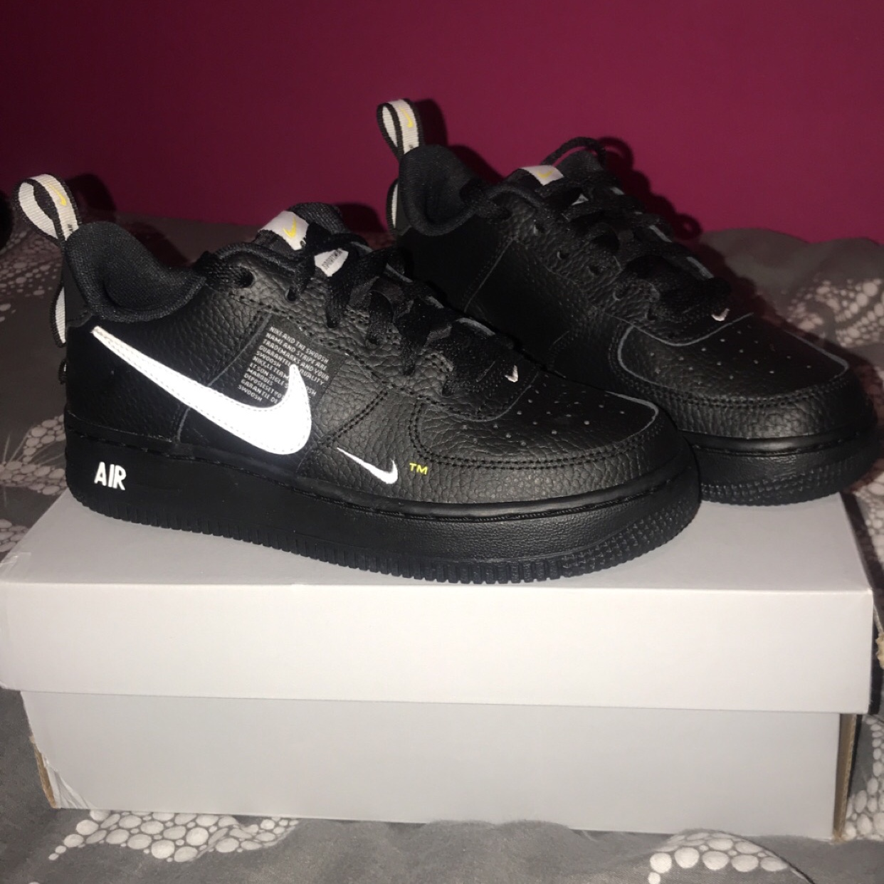 black air force size 3