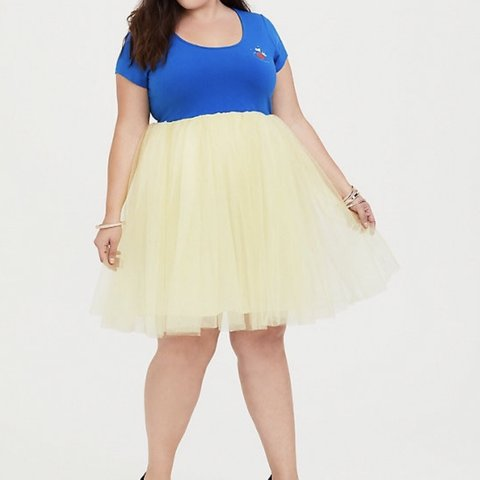 89c19e52 @enedinairene. 4 months ago. San Antonio, United States. Torrid Belle  Princess dress With Tulle And Glitter.